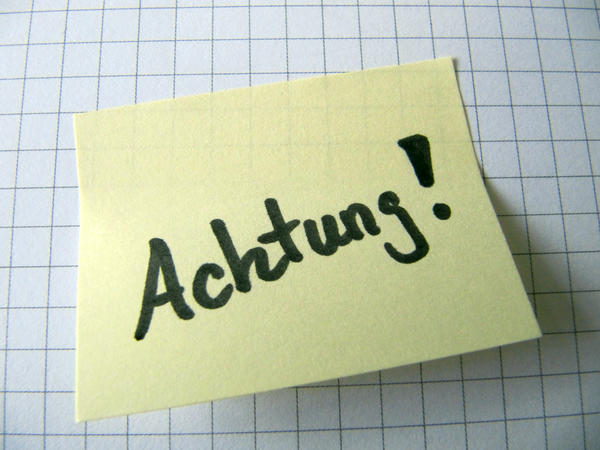 Achtung Post-it