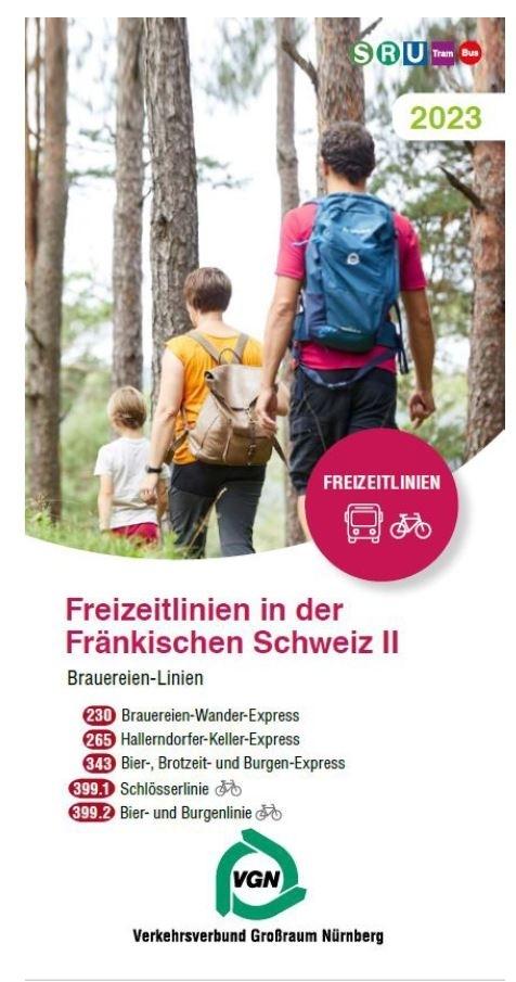 Landkreis Bamberg Vgn Freitzeitlinien