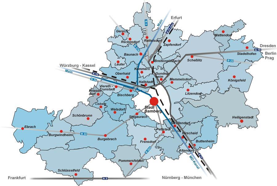 Landkreis Würzburg Karte.Landkreis Engagiert Sich Für Asylbewerber