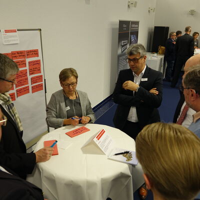 Diskussion im World Cafe